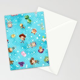 Adventures of Woody and Buzz Stationery Cards