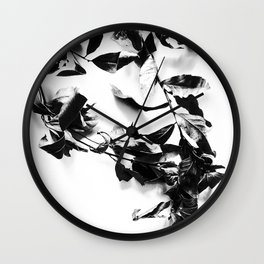 Bay leaves 4 Wall Clock