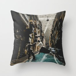 River Season Throw Pillow