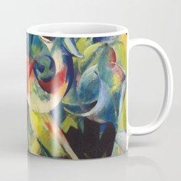 "Franz Marc ""Deer in a Flower Garden (also known as Deer in a Garden)"" Coffee Mug"