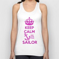keep calm Tank Tops featuring KEEP CALM by Lonica Photography & Poly Designs