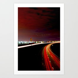 All the Way Home Art Print