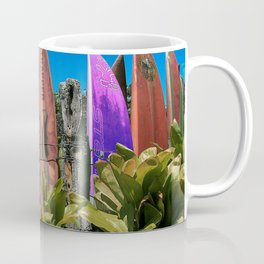 Hawaiian Surfboard Photography Print Coffee Mug