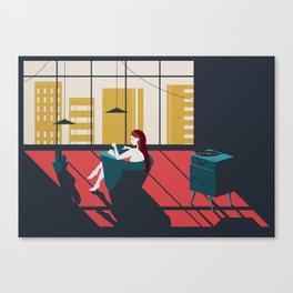 VinyLover Canvas Print