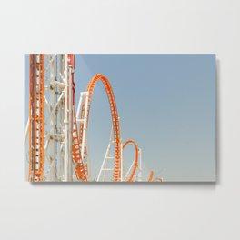 Coney Island Thunderbolt Metal Print