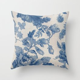 Floral V3 Throw Pillow