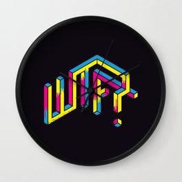 Illusion WTF Wall Clock