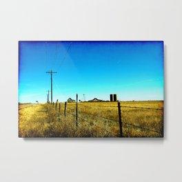 El Paso County, Colorado Metal Print