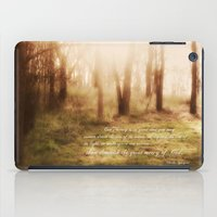 forrest iPad Cases featuring Forrest by Terri Ellis