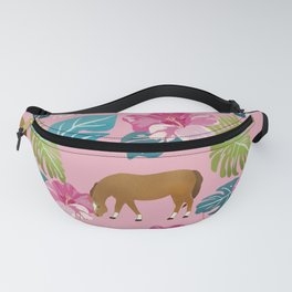Tropical pony Fanny Pack