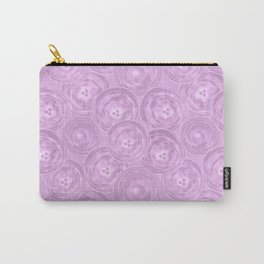 Purple anemones . Carry-All Pouch