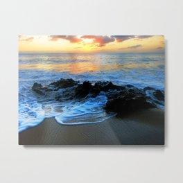 Sunset @ Rincon Metal Print