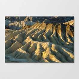 Death Valley - Zabriskie Point Canvas Print