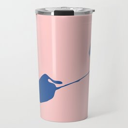 Dreaming seagull Travel Mug