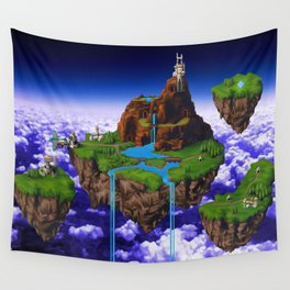 Floating Kingdom of ZEAL - Chrono Trigger Wall Tapestry