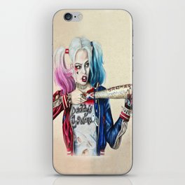 Harley Quinn iPhone Skin