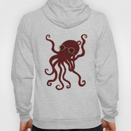 The Octopus who likes to read  Hoody