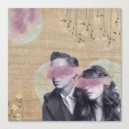 Feminine Collage IV Canvas Print