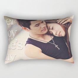 Boy and Girl Rectangular Pillow