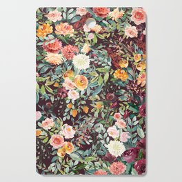 Fall Floral Cutting Board