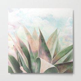 Landscape plant paint Metal Print