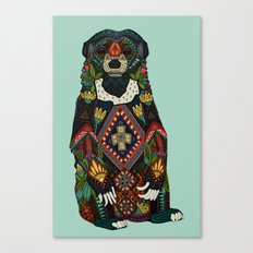 sun bear mint Canvas Print
