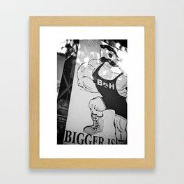 STR-05 Framed Art Print