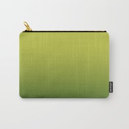 Gradient olive and green. Carry-All Pouch