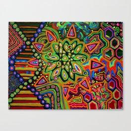 Molecular Monstrocity Canvas Print