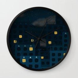 Starlight Night Wall Clock