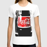 coca cola T-shirts featuring Coca-Cola Nostalgia by Vorona Photography