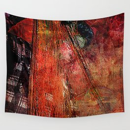 Sicilian Fisherman (This Artwork is a collaboration with the talented artist design  Ganech Joe) Wall Tapestry