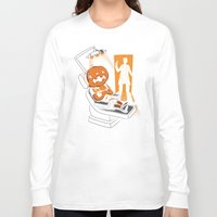 dentist Long Sleeve T-shirts featuring Are You Afraid of the Dentist? by Marco Angeles