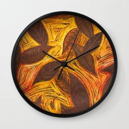 Depths of Autumn Wall Clock