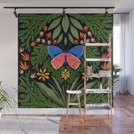 Butterfly in The Garden 03 Wall Mural