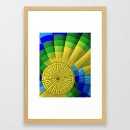 Ballon Burst Framed Art Print