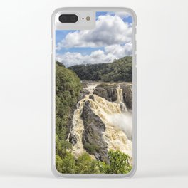 Magnificent Barron Falls in Queensland Clear iPhone Case