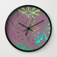 moroccan Wall Clocks featuring *Moroccan* by Mr and Mrs Quirynen