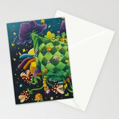 Pixel world Stationery Cards