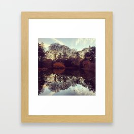 brooklyn botanical garden Framed Art Print