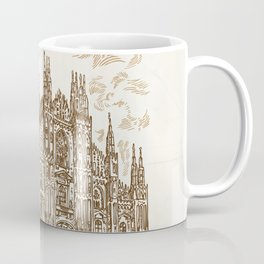 milan cathedral hand draw Coffee Mug