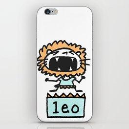 Rawwrrrr! says the Leo. iPhone Skin