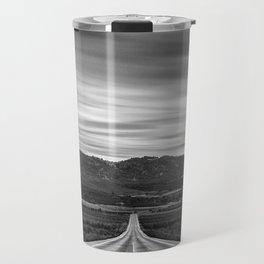 """At The End Of The Road"" Travel Mug"