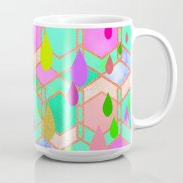 Aquatic abstraction drops Coffee Mug