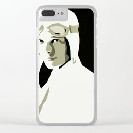Silhouette vector Art: Amelia Clear iPhone Case