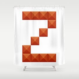 "Letter ""Z"" print in beautiful design Fashion Modern Style Shower Curtain"