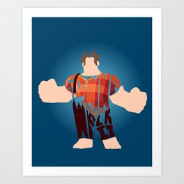 I'm Gonna Wreck It Typography Art Print