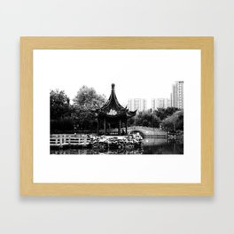 Shanghai 4 Framed Art Print