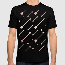 Simply Adventure Arrows in Rose Gold Sunset T-shirt