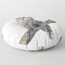 Alone but never lonely Floor Pillow